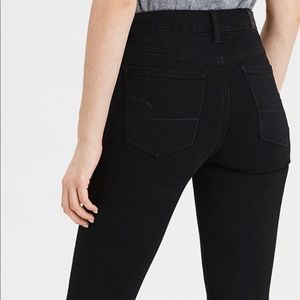 American Eagle Black Ne(x)t Level Skinny Jeans